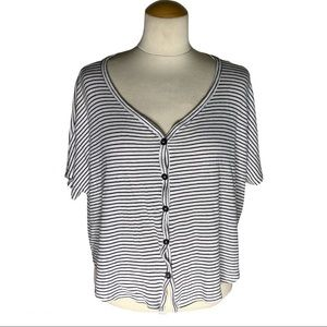Live In The Moment Stripe Top